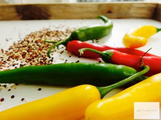 Chili und Quinoa