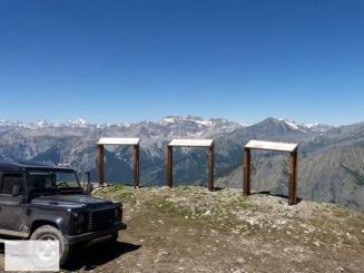 Aussichtspunkt des Colle Someiller erreicht.