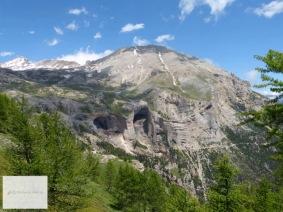 Anfahrt zum Monte Jafferau.