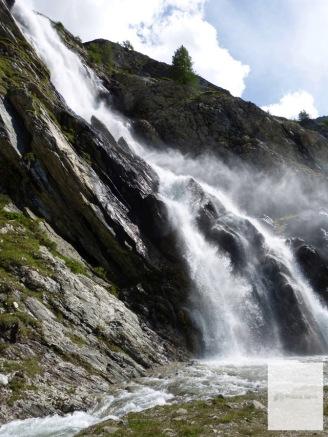 Immer wieder faszinierend so ein gewaltiger Wasserfall.