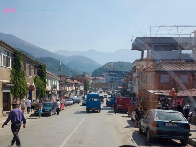 Straßen in Albanien