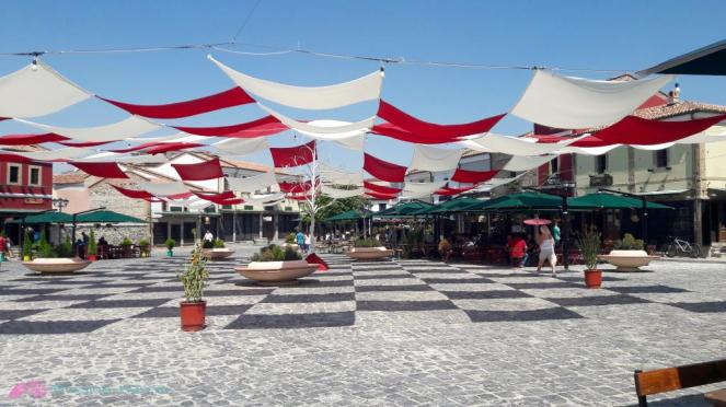 Platz in Korca