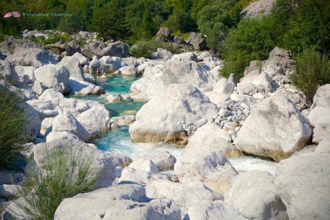 Fluss Albanien