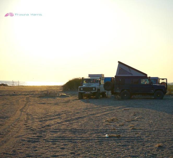 Campen am Strand
