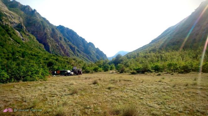 Campspot im Theth Tal