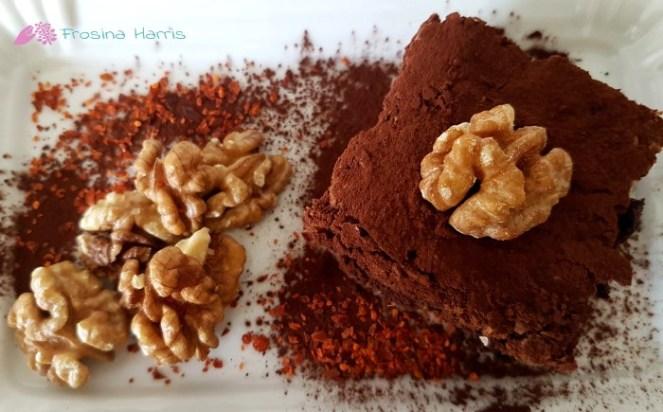 Chili-Schoko-Brownie